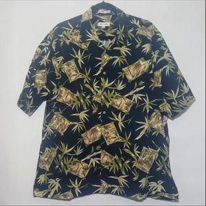 Pierre Cardin Button Down Hawaiian
